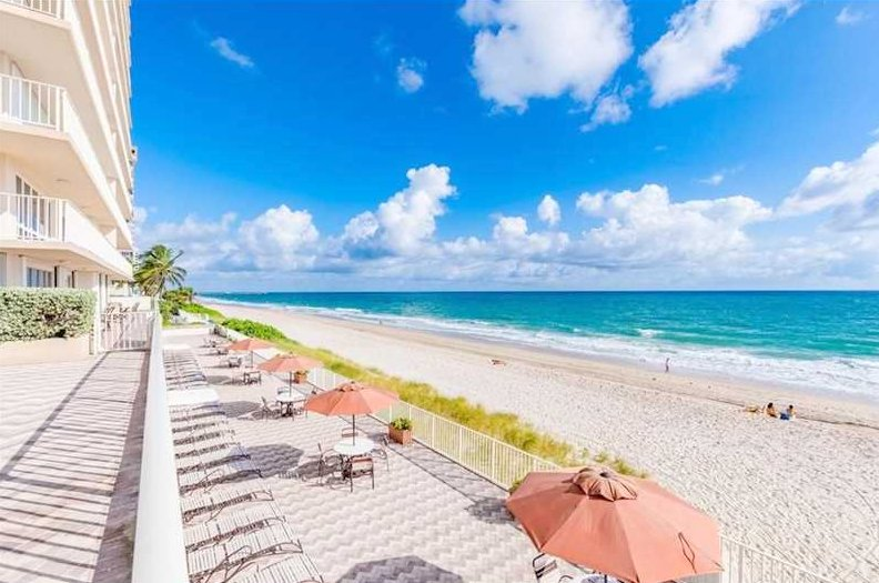 View from one of The Galleon condos for sale Fort Lauderdale