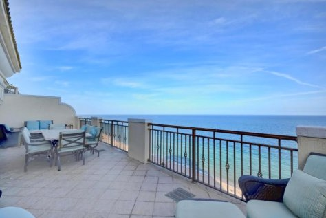 Ocean views from a luxury Fort Lauderdale Hotel condo for sale here in North Beach