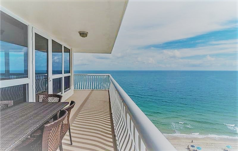 View from one of the Fort Lauderdale condos for sale Ocean Club