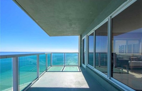 View from a 2 bedroom Fort Lauderdale oceanfront condo for sale
