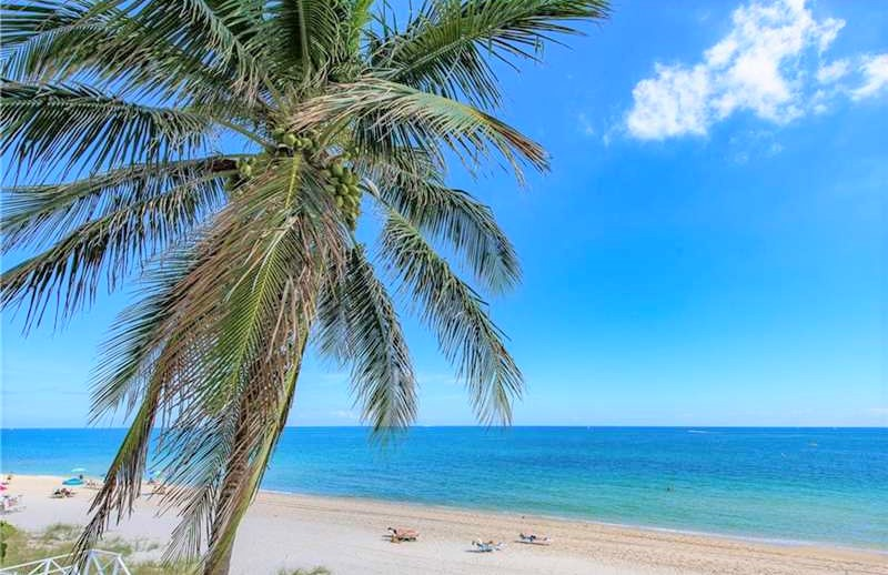 Views from Luxury Fort Lauderdale condos for sale L'Ambiance Galt Ocean Mile