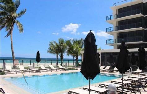 Pool views popular pet friendly Fort Lauderdale condominium