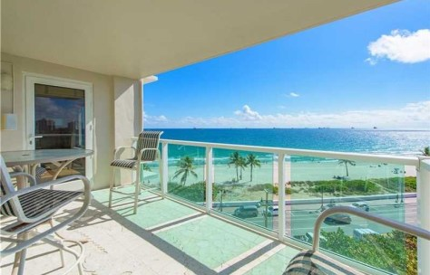 View 2 bedroom Pet Friendly oceanfront condo for sale Park Tower
