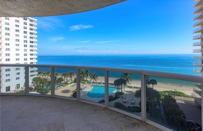 View Fort Lauderdale oceanfront condo for sale L'Ambiance Galt Ocean Mile