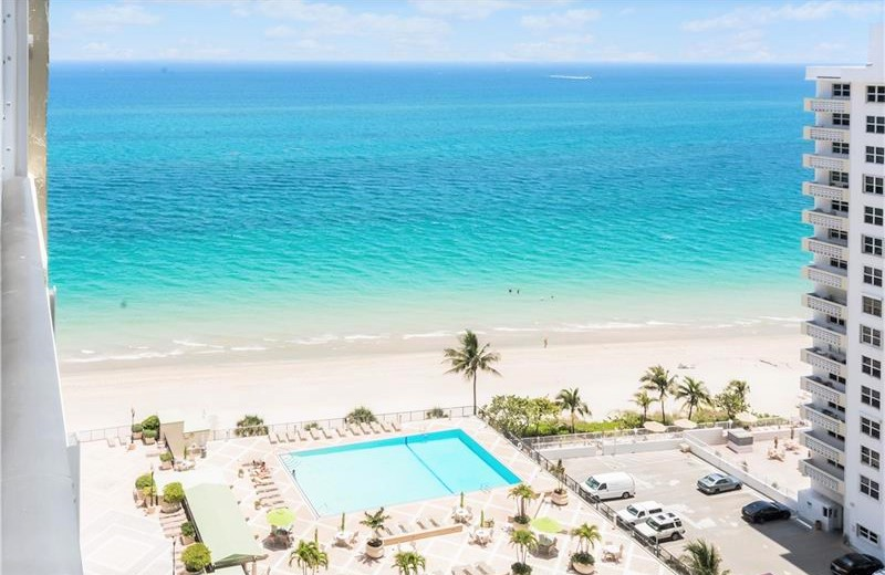 View Fort Lauderdale oceanfront condo for sale Plaza South Galt Ocean Mile