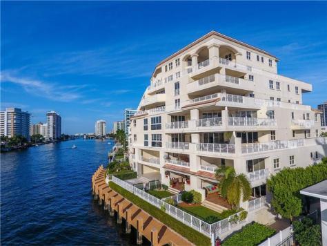 View Fort Lauderdale waterfront condos for sale - La Cascade Unit 700
