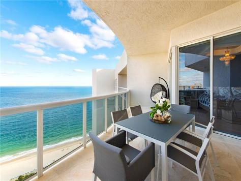 View 2 bedroom oceanfront condo for sale Galt Ocean Mile!