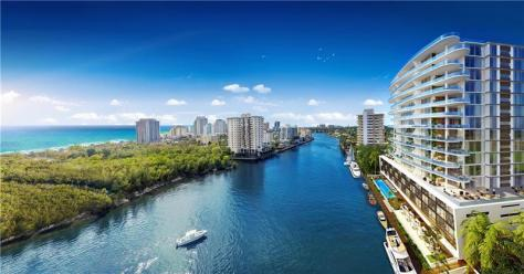 View luxury Fort Lauderdale waterfront condos for sale on the Intracoastal