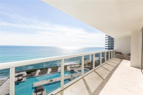 View 3 bedroom Fort Lauderdale pet friendly oceanfront condo for sale
