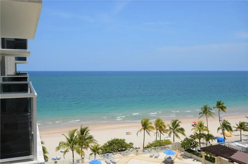 View from one of the Playa del Sol Galt Ocean Mile condos for sale - 3500 Galt Ocean Drive Fort Lauderdale