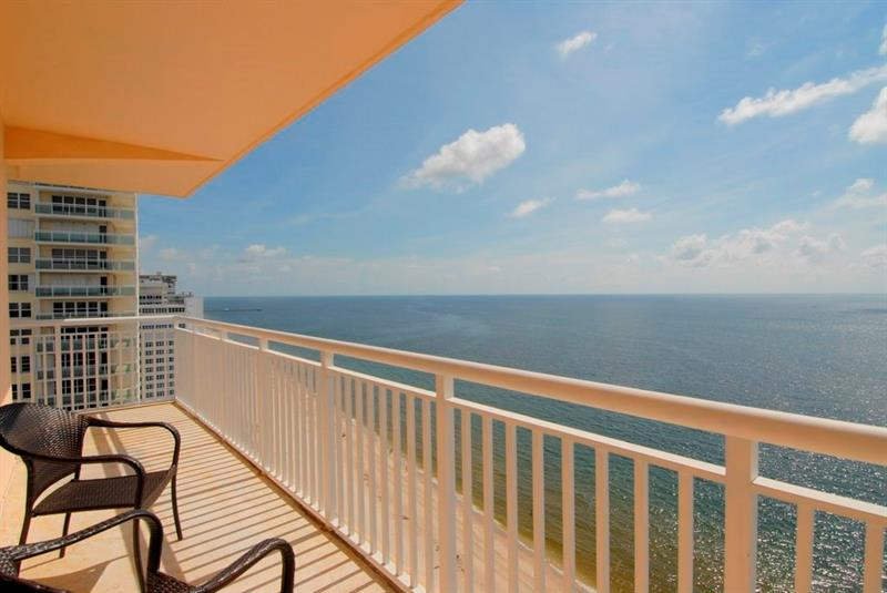 View from Regency Tower Galt Ocean Mile condos 3850 Galt Ocean Dr, Fort Lauderdale