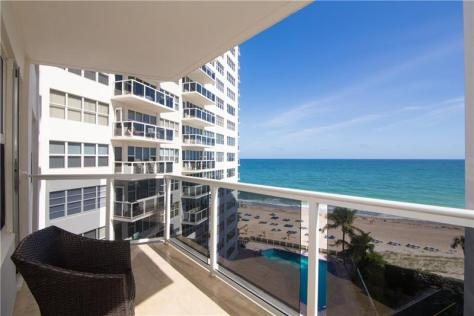 View from Royal Ambassador Galt Ocean Mile condos for sale - Unit 710