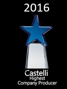 Kevin Wirth Realtor - Awarded Castelli's Highest Company Producer 2016