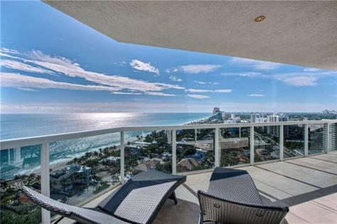 Sweeping views luxury Galt Ocean Mile condo recently sold L'Hermitage Fort Lauderdale