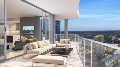 View luxury 2 bedroom new construction condo for sale Las Olas Fort Lauderdale