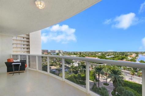 View luxury Galt Ocean Mile condo pending sale L'Ambiance Unit 901 - Cannes Model