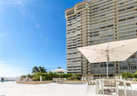 View Plaza East condo recently sold Galt Ocean Mile Fort Lauderdale - Unit 7G