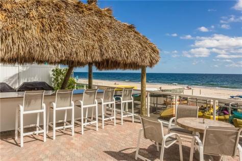Ocean views sun deck Royal Ambassador condo for sale Galt Ocean Mile