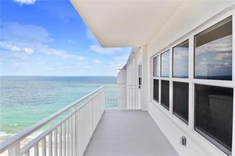 View 2 bedroom Galt Ocean Mile condo recently sold Regency Tower South - Unit 2010