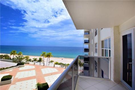 View condo just listed for sale Playa del Sol 3500 Galt Ocean Drive - Unit 416