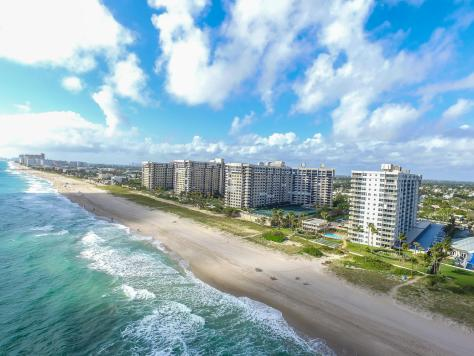 Aerial view Sea Ranch :Lakes condominium 5200 N Ocean Blvd Lauderdale by the Sea