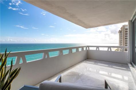 View luxury 3 bedroom Galt Ocean Mile direct oceanfront condo recently sold in Fountainhead.