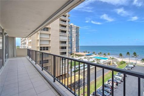 View Galt Ocean Mile condo recently sold Plaza South 4280 Galt Ocean Drive Fort Lauderdale - Unit 6F
