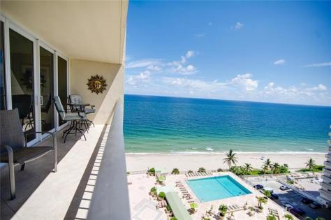 View Plaza South 4280 Galt Ocean Dirve Fort Lauderdale condo just listed for sale - Unit 14K