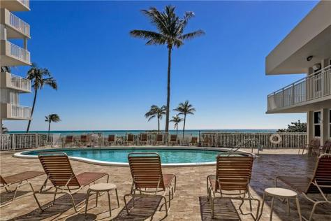 Pool views Sea Ranch Lakes Lauderdale by the Sea condo for sale