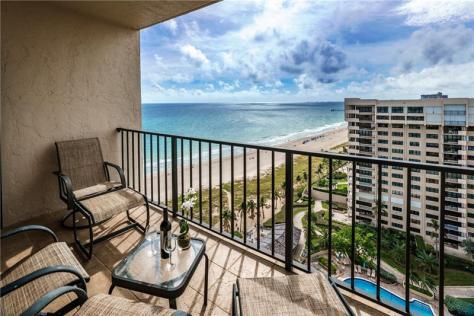 Sea Ranch Club 4900-5100 N Ocean Blvd Lauderdale by the Sea - Condo pending sale - Unit PH1709