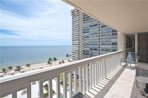 View Plaza East 4300 N Ocean Blvd Fort Lauderdale condo pending sale - Unit 9B