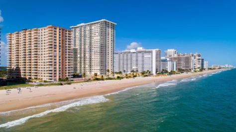 View Regency Tower condominium Galt Ocean Mile 3850 Galt Ocean Drive Fort Lauderdale