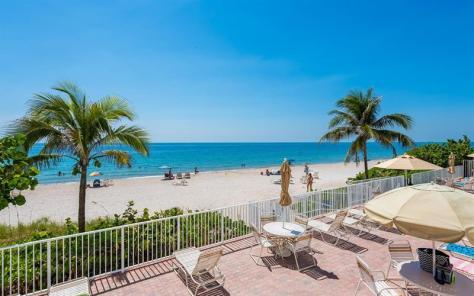 View Sun deck Galt Towers condominium Galt Ocean Mile 4250 Galt Ocean Drive Fort Lauderdale.