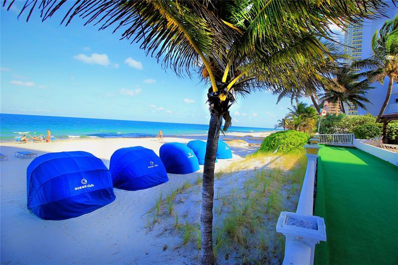 Beach views condo sold in 2018 in Ocean Club 4020 Galt Ocean Drive Fort Lauderdale