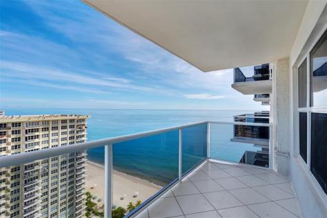 View 1 bedroom Galt Ocean Mile condo sold 2018 Playa del Sol 3500 Galt Ocean Drive Fort Lauderdale - Unit 2214