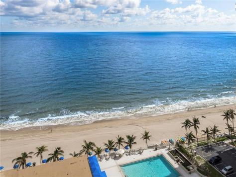 View 1 bedroom Galt Ocean Mile condo sold 2018 Plaza East 4300 N Ocean Blvd Fort Lauderdale
