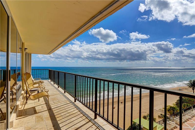 View Galt Ocean Mile condo sold highest price 2018 Plaza South 4280 Galt Ocean Drive Fort Lauderdale - Unit 6P
