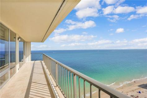 View Galt Ocean Mile condo for sale Plaza South 4280 Galt Ocean Drive Fort Lauderdale