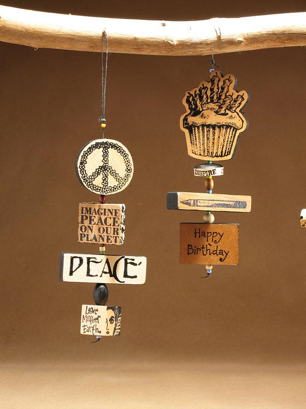 Art Pat Hecker ornament PeaceCupcake