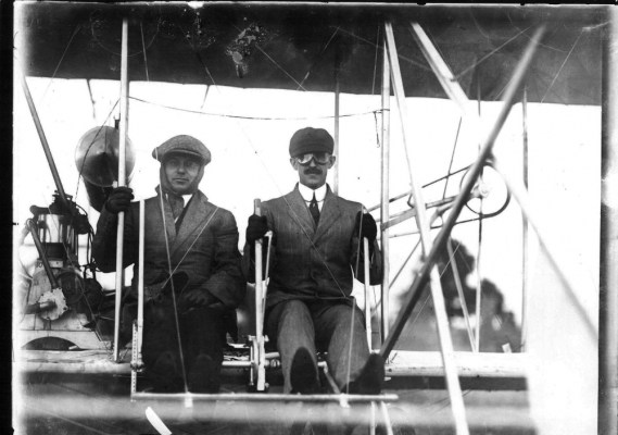 Pilot Orville Wright, Huffman Prairie (Simms Station) 21.2014.5