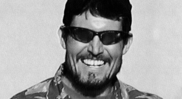 Kris Paronto in uniform sunglasses