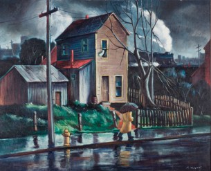 Floyd Hopper, Rainy Day, 1940