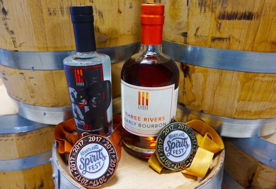 Three Rivers Early Bourbon Named Best In Indiana