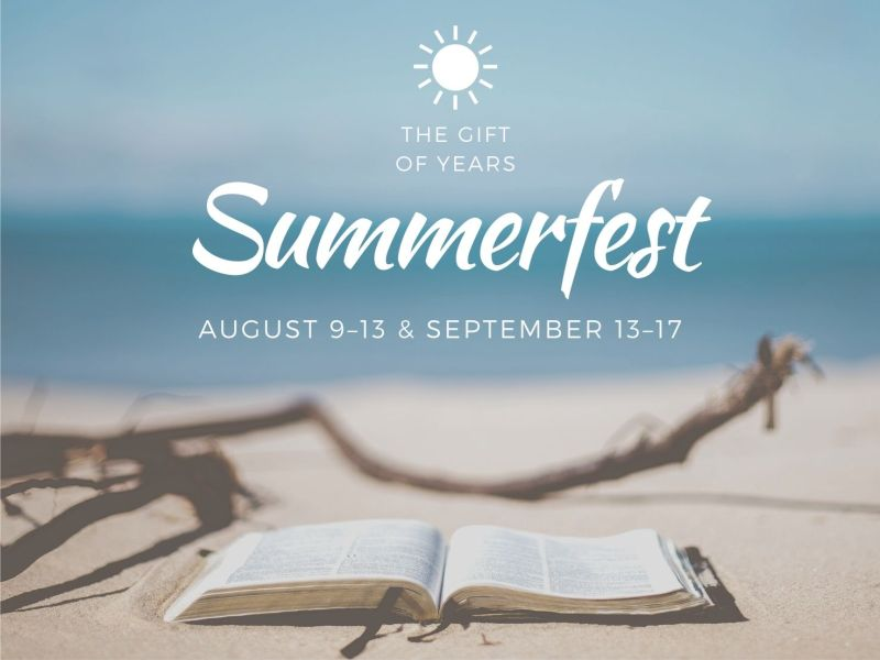 Summerfest Retired Adult Retreat 2021
