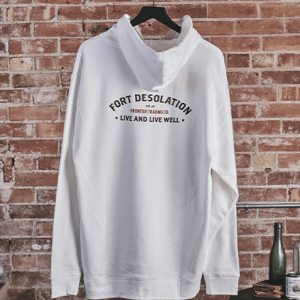 Live and Live Well Pullover Hoodie