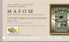 MAFOSZ - FMNYE - Beszámoló tárlat
