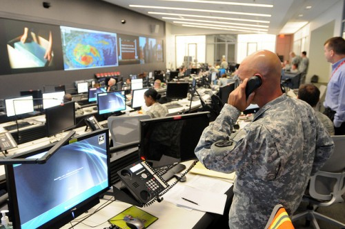 The National Guard Command Center by Official U.S. Navy Page