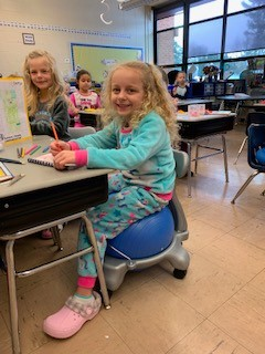 Flexible Seating at Rockwell School