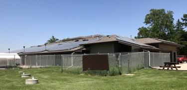 Solar Energy Project at the Humane Society Shelter