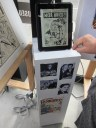 The Jack Kirby Museum has these awesome tablets out for the public. You could skim through some of Jack Kirbys work and read some samples of his comics.